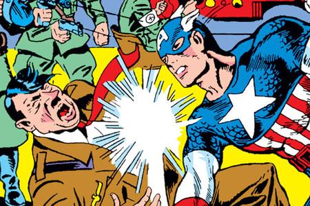 Capitan America Nazi Punch