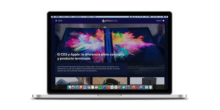 Plash es una aplicación que permite usar cualquier sitio web como fondo de pantalla de nuestro Mac