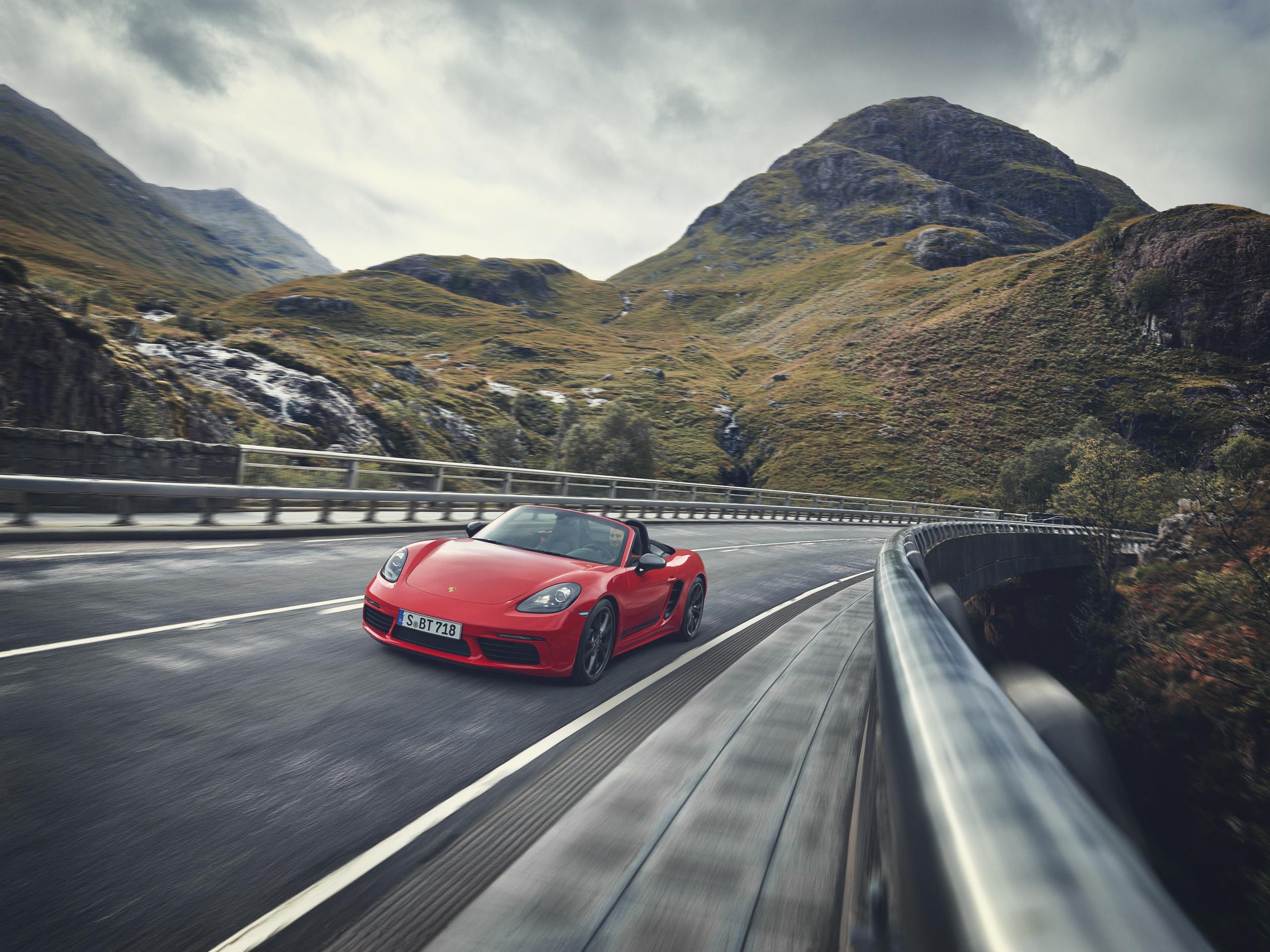 Foto de Porsche 718 Cayman y Boxster T (6/10)