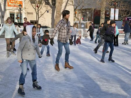 planes navidad patinaje hielo