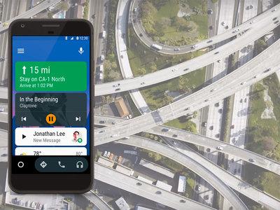Android Auto, ahora disponible para todos los autos desde el smartphone