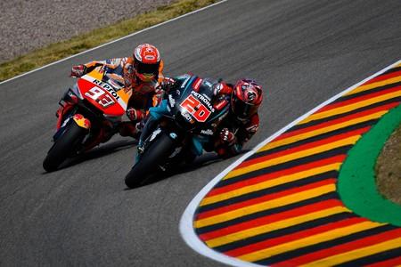 Quartararo Marquez Alemania Motogp 2019