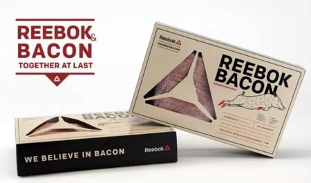 Reebok se pasa a la charcutería y lanza su propio bacon