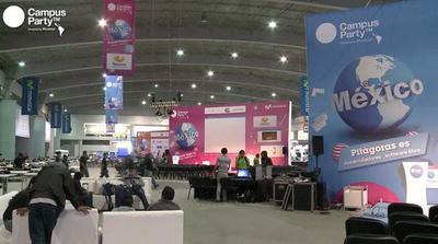 Arranca la cuarta edición de Campus Party en México | #CPMX4