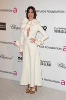 Paz Vega, ¿quién te engañó para llevar ese look de las fiestas post-Oscar?