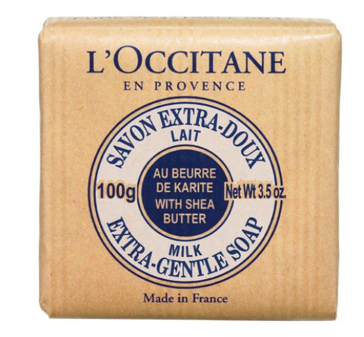 Jabón Extra-Suave Leche de Karité 100 g L'Occitane en Provence