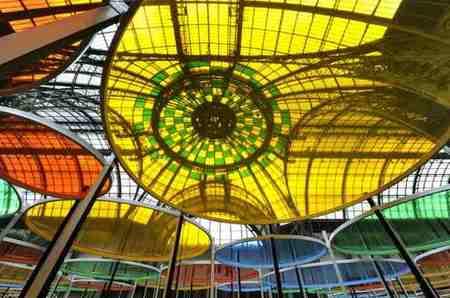 Monumenta en el Grand Palais de París a todo color con Daniel Buren