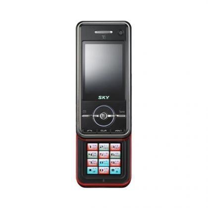 Teléfono Sky con pantalla como teclado