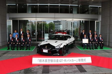 En Japón alguien donó un Nissan GT-R a la policia para ser usado como patrulla