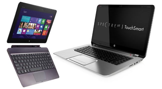 ¿Cómo trabajaríamos mejor, con portátiles táctiles o híbridos para las empresas?