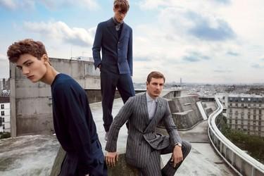 Elegante y moderna, así es la campaña para la primavera-verano 2015 de Ermenegildo Zegna