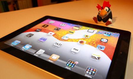 Fondo de pantalla de alta resolución con la imagen de la invitación al evento del iPad mini