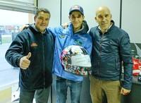 NZI recuerda el paso de Luis Salom por la Cuna de Campeones con un casco
