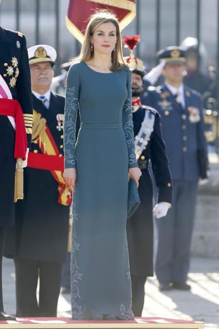 Doña Letizia Pascua Militar
