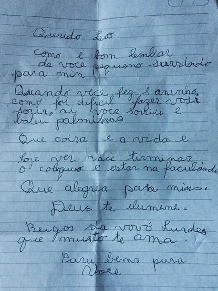 Carta Abuela
