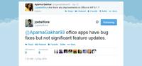 No habrá novedades en Office para Windows Phone 8.1