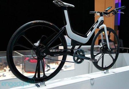 Un bicicleta controlada por un SGS2