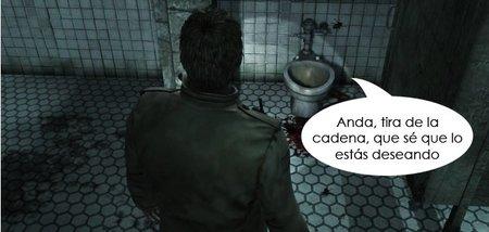 Cinco cuartos de baño e inodoros en los videojuegos