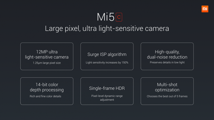Foto de Xiaomi Mi5c (6/16)