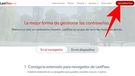 Get Lastpass