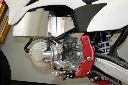 Moto eléctrica con caja de cambios