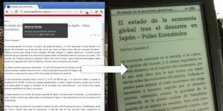 Send to Kindle, extensión para Chrome que envía artículos al Kindle con un clic
