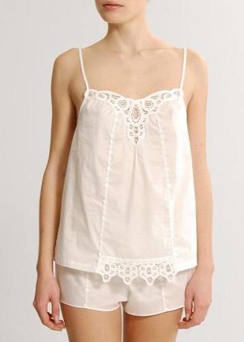 Mango, colección de ropa íntima Primavera-Verano 2010, conjunto