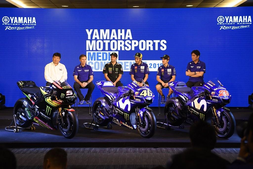 Yamaha Motorsports Media Conference