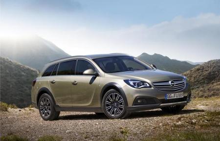 Opel Insignia Country Tourer para el Salón de Fráncfort