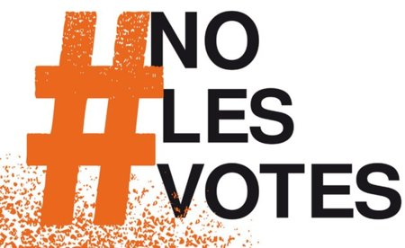 El Gobierno teme perder hasta medio millón de votos en consecuencia de iniciativas como NoLesVotes