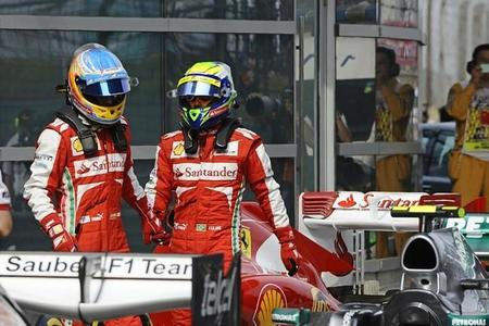 Ferrari comienza con buen pie en Baréin