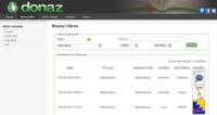 Donaz, un proyecto para intercambiar libros de texto usados