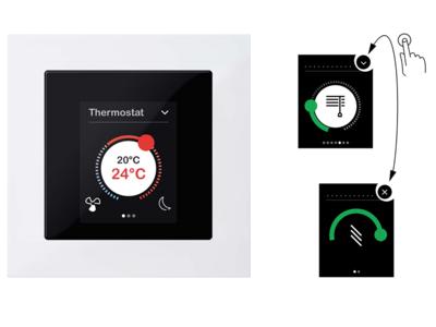 Schneider lanza el Multitouch KNX Pro y el pulsador KNX Pro para integrar el control domótico de casa