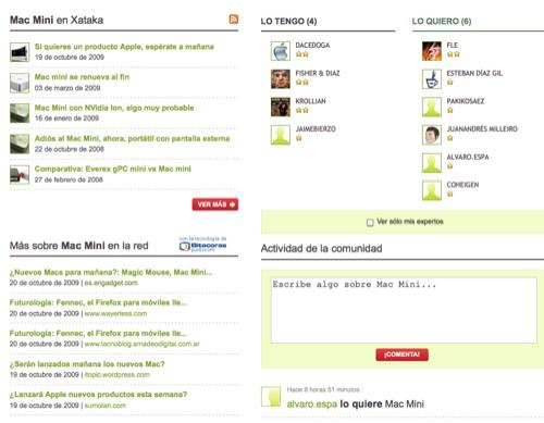 Página de producto Weblogs SL