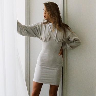 17 minivestidos de manga larga que vestirán tus noches locas de otoño y que querrás ponerte hasta en Navidad