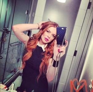 Trucos de belleza by Lindsay Lohan: para un pelo sedoso ponle esperma de toro