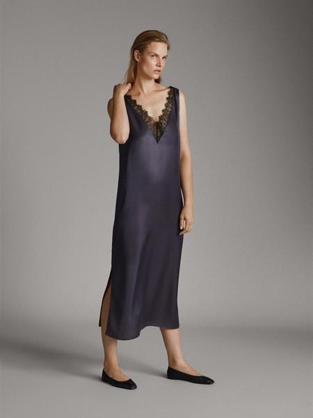 Como Combinar Un Vestido Azul Marino