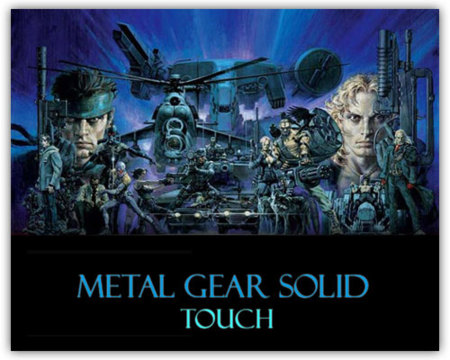 Metal Gear Solid Touch y 3 títulos más para el iPhone
