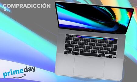 Este potente MacBook Pro de 16 pulgadas con procesador i7 y 16 GB de RAM cuesta menos en el Prime Day: Amazon lo tiene por 2.089 euros