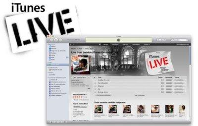 Apple solicita el registro de la marca iTunes Live