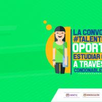 Gobierno abre nuevas convocatorias Talento TI con créditos condonables para estudiantes de carreras TI