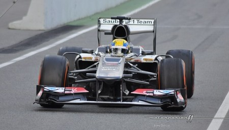 Esteban Gutiérrez se adapta poco a poco a la Fórmula 1