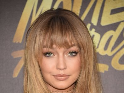 El flequillo de Gigi Hadid  en los MTV Movie Awards 2016 a debate