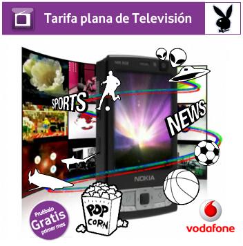 Los canales para adultos de Vodafone live! gratis el primer mes