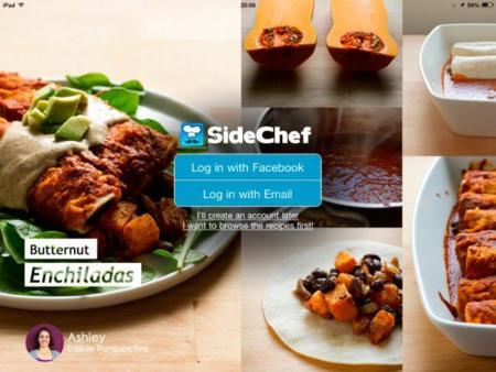 SideChef, una app para aprender a cocinar paso a paso