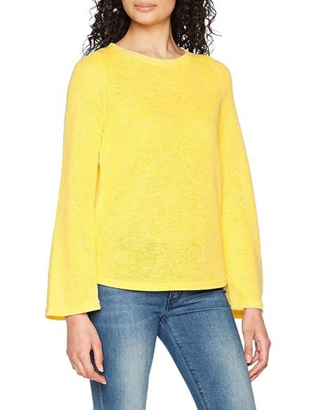 Vero Moda Vmkara LS Key Hole Blouse suéter para Mujer