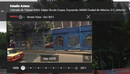 Google Street View Timeline