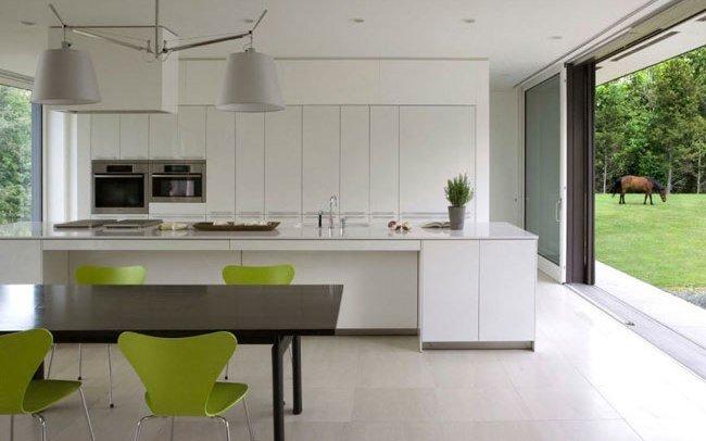 El color verde pistacho pisando fuerte en decoraci n for Cocina verde pistacho