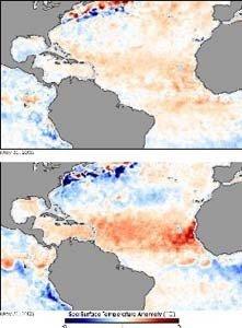 Se esperan menos huracanes este año