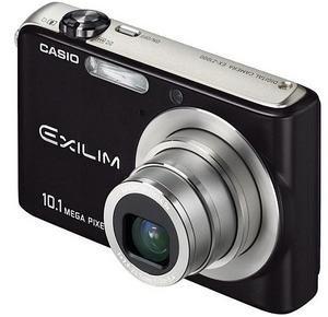 Casio Exilim Z1000 con carcasa en negro